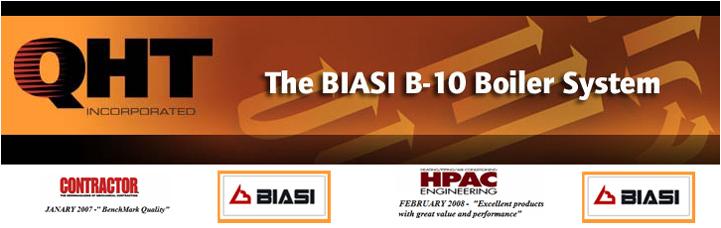 BIASI B-10 BOILER SYSTEM