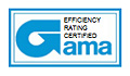 Efficency Rating Certified AMA