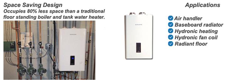Navien Condensing Combination Natural Gas Boiler Water Heater Reviews
