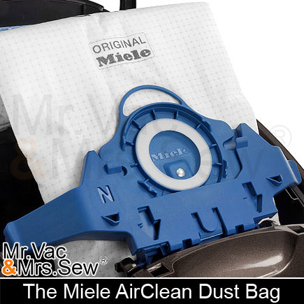 how to change miele hepa airclean 50 filter