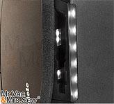 LED-Lit Dual-sided Wand Holder