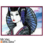 PhotoStitch Violet Sunrise Geisha