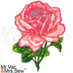 PhotoStitch Elegant Pink Rose