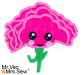 Meet the Flowers Appliqué- Carnation