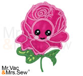 Meet the Flowers Appliqué- Rose