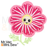Meet the Flowers Appliqué- Chrysanthemum