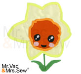 Meet the Flowers Appliqué- Daffodil
