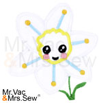 Meet the Flowers Appliqué- Narcissus